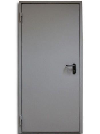 Дверь противопожарная дымогазонепроницаемая металлическая однопольная глухая EIS60