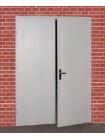 Дверь противопожарная металлическая двупольная