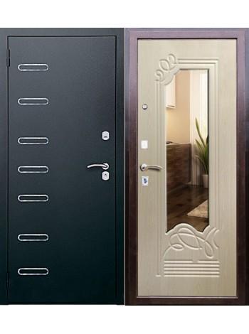 Входная дверь Ольга с зеркалом