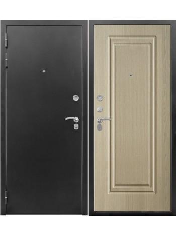 Входная дверь Сотка (беленый дуб)