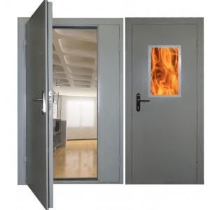 Противопожарные двери и люки